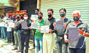 नागपुर में लॉकडाउन के विरोध में व्यापारी, प्रदर्शन जारी