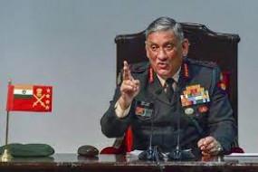सीडीएस रावत बोले- भविष्य में होने वाले सभी युद्ध तीनों सेनाएं मिलकर लड़ेंगी