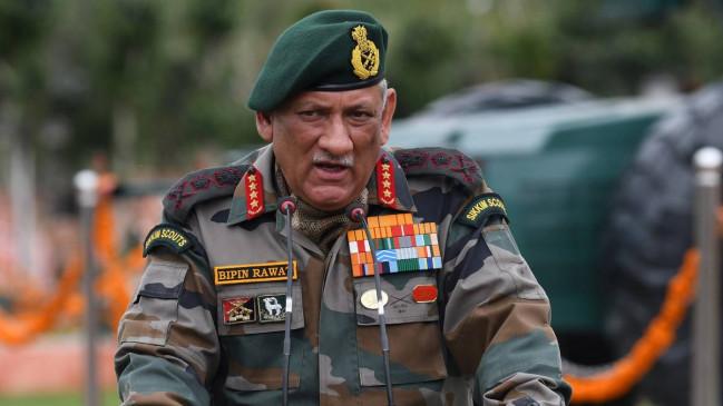 साइबर हमले कर सकता है चीन, जनरल बिपिन रावत बोले- भारत मुकाबले को तैयार