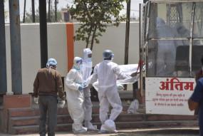 कोरोना का कहर सरकारी रिकॉर्ड में 24 घण्टों में 7 मौतें, प्रोटोकॉल सेे 60 शवों का अंतिम संस्कार