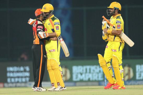 CSKvsSRH : चेन्नई ने हैदराबाद को 7 विकेट से हराया, लगातार 5वीं जीत के साथ पॉइंट टेबल में नंबर-1, डुप्लेसिस और ऋतुराज के अर्धशतक
