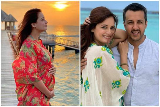 दीया मिर्जा ने फ्लॉन्ट किया बेबी बंप, जल्द बनने वाली हैं मां