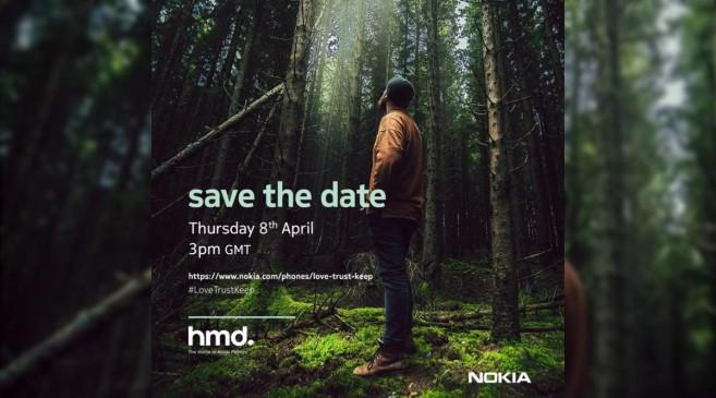 HMD ग्लोबल का इवेंट 8 अप्रैल को, लॉन्च हो सकते हैं Nokia के ये स्मार्टफोन
