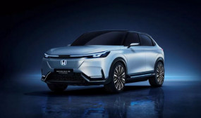 Honda जल्द लॉन्च करेगी दमदार इलेक्ट्रिक एसयूवी, कंपनी ने दिखलाई पहली झलक