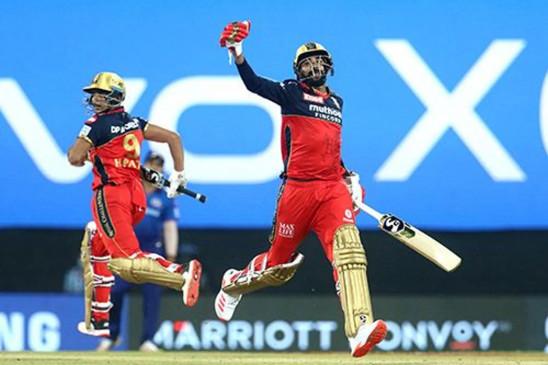 MI vs RCB IPL 2021: बेंगलुरु ने पहली बार ओपनिंग मैच जीता, मुंबई इंडियंस को लगातार 9वें सीजन के पहले मैच में हारा, हर्षद ने 5 विकेट लिए और विनिंग रन बनाया