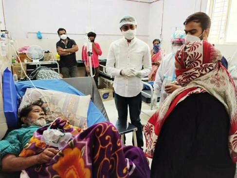 बीड जिले में बढ़ाई जा रही स्वास्थ्य सुविधाएं, माजलगांव में घुमक्कड़ों का हो रहा एंटीजन टेस्ट