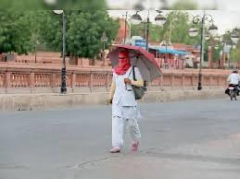नागपुर का पारा चढ़ा, राजस्थान की हवाओं का असर