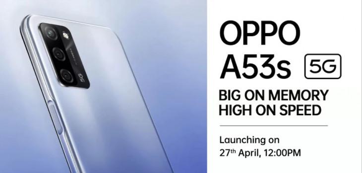 Oppo A53s 5G भारत में 27 अप्रैल को होगा लॉन्च, हो सकता है सबसे सस्ता 5G स्मार्टफोन