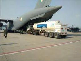 सीएम की मांग पर वायु सेना के विमानों से महाराष्ट्र में पहुंचेगा ऑक्सीजन