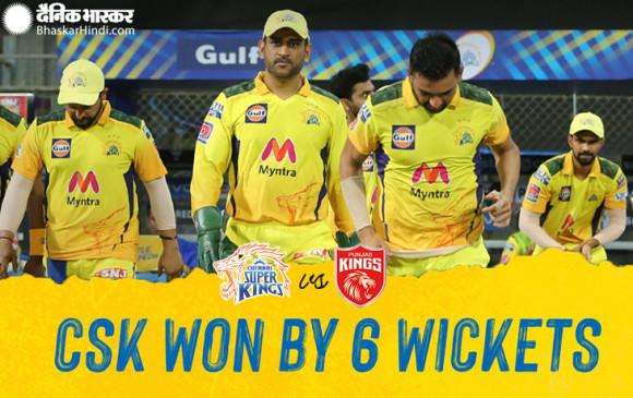 PBKS vs CSK: चाहर ने चेन्नई को दिलाई सीजन की पहली जीत, पंजाब किंग्स को 6 विकेट से मात दी