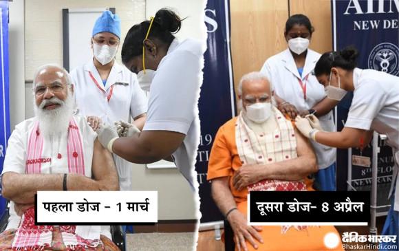 प्रधानमंत्री नरेंद्र मोदी ने लिया वैक्सीन का दूसरा डोज, कहा- टीका कोरोना का हराने का तरीका
