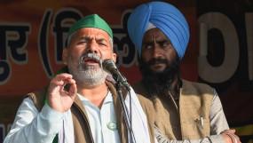 राजस्थान: किसान नेता राकेश टिकैत के काफिले पर हमला, गाड़ी के शीशे टूटे, भाजपा पर लगाया आरोप