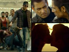 सलमान की फिल्म 'राधे' का ट्रेलर रिलीज, पहली बार किया एक्ट्रेस के होठों पर 'KISS'