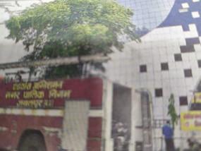 चौहानी श्मशानघाट में चिता से उठीं चिंगारियों ने मदन महल की पहाड़ी पर फैलाई आग