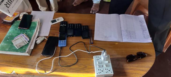 आईपीएल का सट्टा खिलाने ससुराल में बनाया ठिकाना, दो सटोरियों को पकड़ा