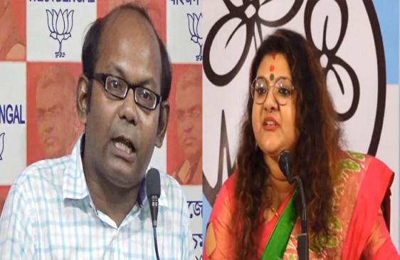 पंश्चिम बंगाल: भाजपा के सायंतनु बसु, तृणमूल की सुजाता मंडल के प्रचार पर 24 घंटे की रोक