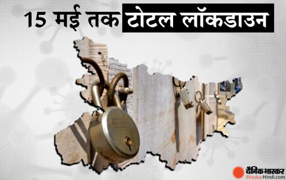 CM नीतीश कुमार का बड़ा ऐलान- बिहार में 15 मई तक संपूर्ण लॉकडाउन