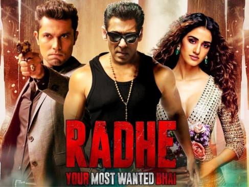 """सलमान खान की """"राधे"""" ने बनाया रिकार्ड, पहले दिन 42 लाख लोगों ने देखी फिल्म"""