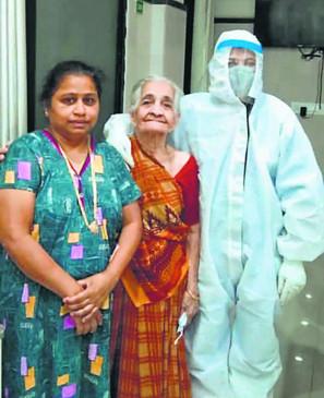 कोरोना को दी मात: डॉक्टरों ने छोड़ दी थी उम्मीद, पर रंग लाई 'जिद'