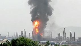 Visakhapatnam: हिंदुस्तान पेट्रोलियम के प्लांट में लगी आग पर काबू पाया गया, सभी मजदूर सुरक्षित बाहर निकले