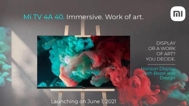 Mi TV 4A Horizon Edition स्मार्ट टीवी 1 जून को भारत में होगी लॉन्च, जानें कीमत और फीचर्स