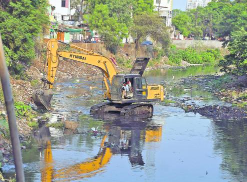 नागपुर :  नदी, नाले की सफाई 60 फीसदी, 30 मई  है 'डेडलाइन'