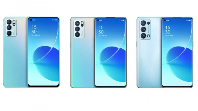 Best Mobile Launch In India Oppo Reno 6, 6 Pro and 6 Pro+ smartphones launched, including 65W fast charging and 32MP selfie cameras