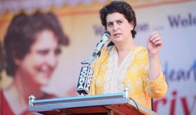 प्रियंका गांधी के निशाने पर CM योगी, कहा- यूपी सरकार पाप करने पर उतारू