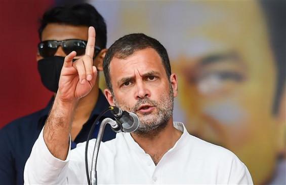 कोरोना संकट पर राहुल गांधी का मोदी सरकार पर हमला, बोले- शहरों के बाद, अब गांव भी परमात्मा निर्भर!