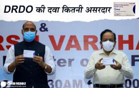 ऑक्सीजन की जरुरत को कम करेगी DRDO की 2DG दवा, रक्षा मंत्री राजनाथ बोले- कोरोना मरीजों के लिए वरदान