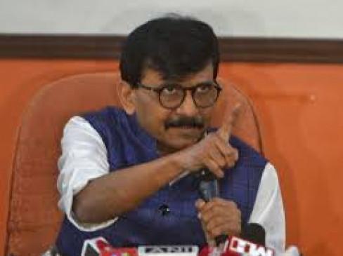 पलटवार में बोले राऊत - महाराष्ट्र नहीं दिल्ली के कांग्रेस नेताओं पर रहती है हमारी नजर