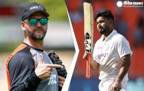 WTC Final: न्यूजीलैंड के गेंदबाजी कोच बोले- पंत खतरनाक खिलाड़ी, उन्हें रोकना आसान नहीं