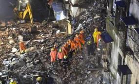 उल्हासनगर में इमारत काहिस्सा गिरने से सात की मौत