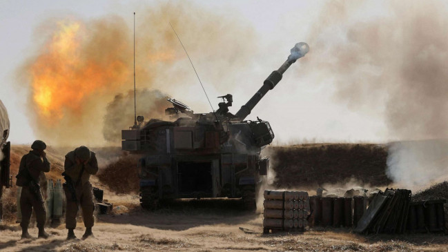 Israel-Palestine War: इजरायल ने गाजा पट्टी पर दागे रॉकेट, हमले में 122 फिलिस्तीनी नागरिकों की मौत