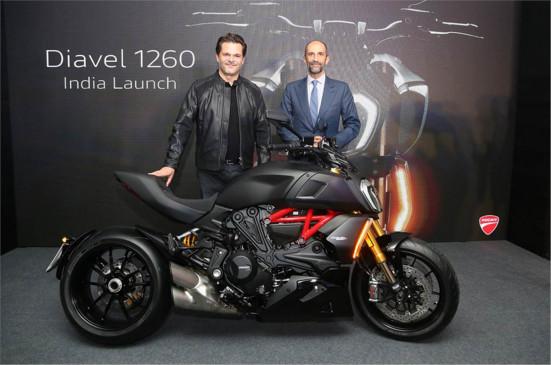 2021 Ducati Diavel 1260 भारत में हुई लॉन्च, शुरुआती कीमत 18.49 लाख रुपए