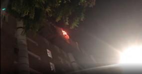 एम्स की नौवीं मंजिल पर में लगी आग, 22 दमकल गाड़ियां बुझाने में जुटीं