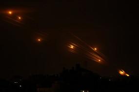 गाजा में हमास की सैन्य चौकियों पर फिर बरसे इजराइल के लड़ाकू जहाज