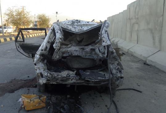 अफगानिस्तान में सड़क किनारे बम विस्फोट, 5 लोगों की मौत , तालिबान पर शक