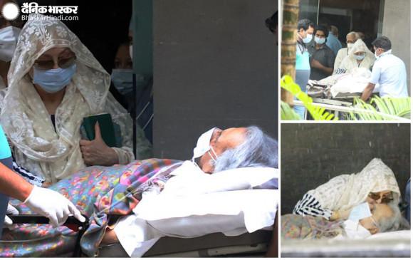 98 साल के दिलीप कुमार हुए अस्पताल से डिस्चार्ज, पत्नी सायरा भी आई साथ नजर
