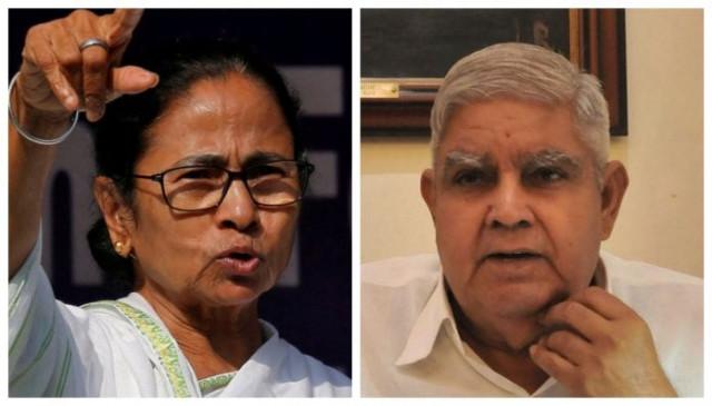 ममता बनर्जी ने बंगाल के राज्यपाल को बताया भ्रष्ट, धनखड़ बोले- इस तरह के किसी भी झूठे आरोप से नहीं डरेंगे