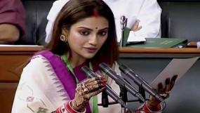 नुसरत जहां की लोकसभा सदस्यता खत्म करने की उठी मांग, बीजेपी सांसद ने स्पीकर को लिखा पत्र
