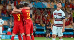 EURO CUP 2020: बेल्जियम ने क्वार्टर फाइनल में बनाई जगह, रोनाल्डो की कप्तानी वाली पुर्तगाल का सफर खत्म