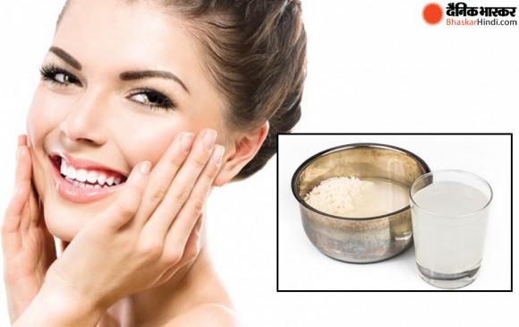 Beauty Tips : चावल का पानी करता हैं टोनर और क्लिंजर का काम, चमक उठेगा चेहरा