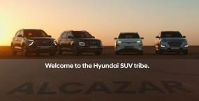 Hyundai Alcazar लॉन्च से पहले आई नजर, साथ में दिखीं क्रेटा, वेन्यू और कोना