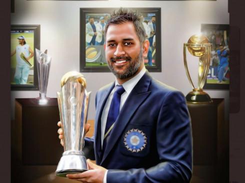 ICC ने किया पूर्व कप्तान महेन्द्र सिंह धोनी को याद, शेयर की चैंपियन ट्रॉफी 2013 की तस्वीर