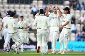 Ind Vs NZ WTC Final: दूसरी पारी में टीम इंडिया के दो विकेट गिरे, 32 रन की बढ़त, न्यूजीलैंड की पहली पारी 249 रन पर सिमटी