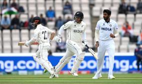 India Vs New Zealand WTC Final Live Score: न्यूजीलैंड का स्कोर 117/2, कप्तान विलियम्सन और टेलर क्रीज पर मौजूद
