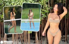 PHOTOS: देखिए, Kim Kardashian का हॉट टेनिस मैच, सोशल मीडिया पर लगाई आग