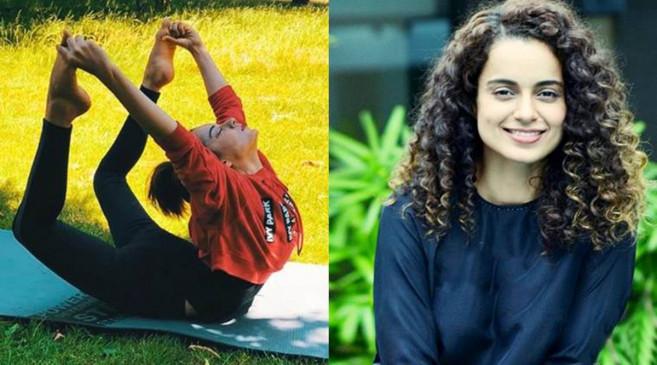International Yoga Day: कंगना रनौत की मां हुई योग से निरोग, हार्ट सर्जरी से मिला छुटकारा