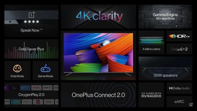 OnePlus TV U1S सीरीज भारत में हुई लॉन्च, शुरुआती कीमत 39,999, जानें खूबियां